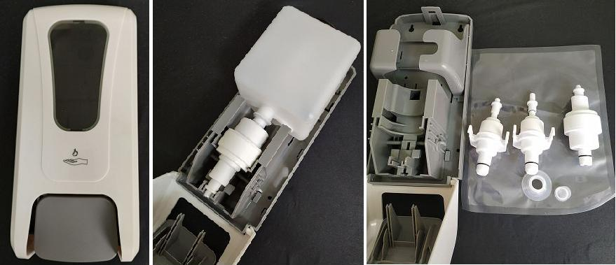 1000ml foam soap dispenser for commercial instituation