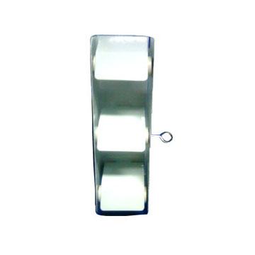 Wall Mounted Jumbo Roll Tissue Dispenser , Triple Jumbo Toilet Paper Holder