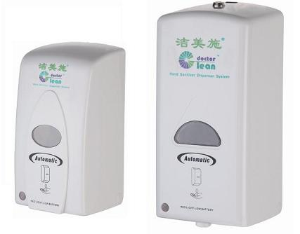 Medical Hospital Touchless Hand Sanitizer Dispenser Wall Mount 800 - 1000ML Capacity White Color