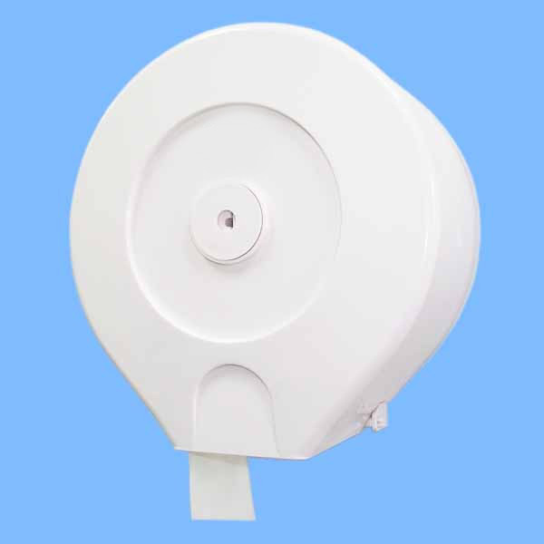 Plastic Jumbo Roll Tissue Dispenser , Mini Jumbo Toilet Roll Dispenser With Lock