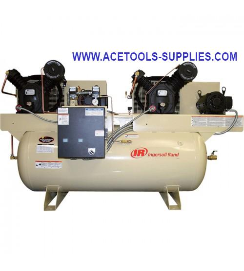 Air Compressor - Duplex, 10 HP, 230 Volt 3 Phase