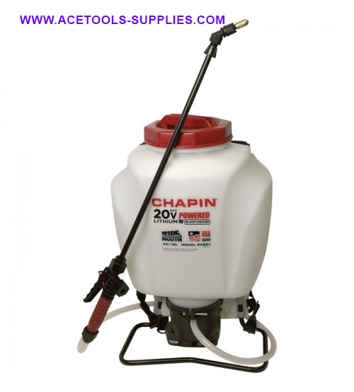 Chapin Li-Ion Battery Powered Backpack Sprayer - 4-Gallon Capacity, 35 PSI